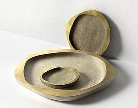 3D Set of 3 Nesting Bowls