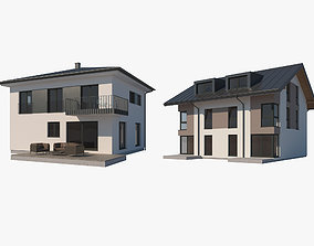 House Collection 001 3D model