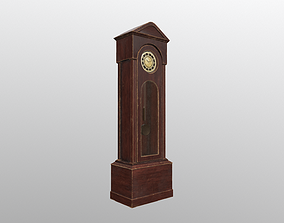 The Clock of Grandfather Sven 3D model realtime