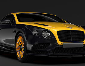 3D Bentley Continental GT Continental 24 2017