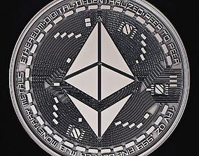 3D printable model Ethereum Coin