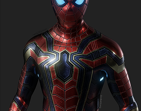 3D model Iron Spider Avengers Suit Rigged