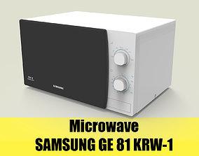 3D model microwave SAMSUNG GE 81 KRW-1
