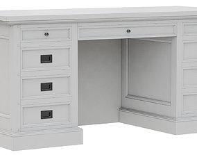 cabinet 3D model Dantone Home Oxford desk