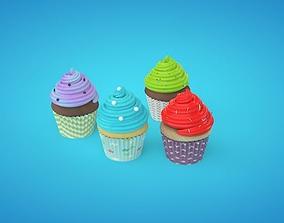 Delicious Cupcakes 3D