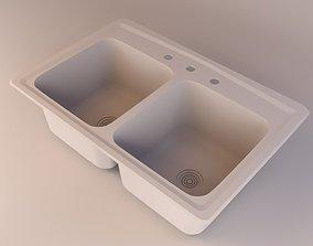 Kohler Toccata K-3847 Kitchen Sink 3D