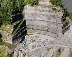 Quarry 3D asset