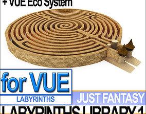 3D Labyrinths Library Vol 1