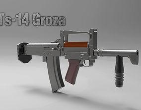 3D printable model OTs-14 Groza A Russian Assault Rifle