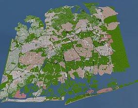 Nassau County of USA 3D asset