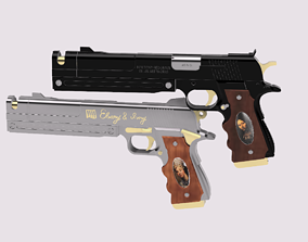 Ebony and Ivory from Devil May Cry 3D printable model