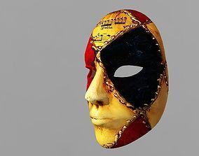 3D asset Music Mask 2018