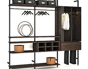 3D Wardrobe system raumplus