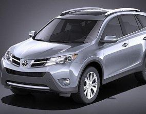3D model Toyota RAV4 2014 VRAY