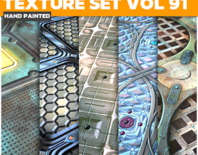 Scifi Vol 91 - Game PBR Textures 3D model