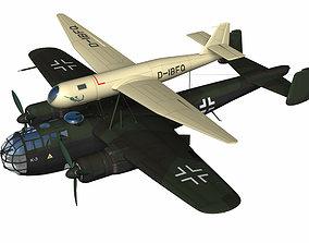 3D dfs228 High altitude reconnaissance aircraft