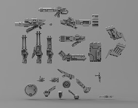 Greater Good crisis bits bundle with 3D printable model 3