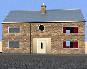 3D Mostly furnished house