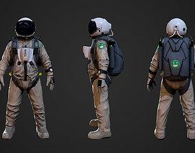 High Altitude Jump Suit 3D model