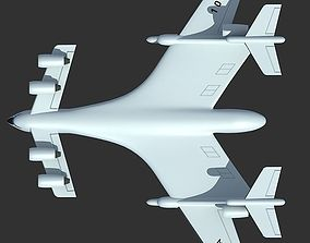 3D Super-heavy Amphibian Cargo Aircraft