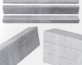 3D model Beam concrete ceiling