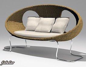 3D model indoor Sofa