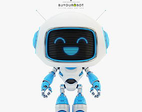 3D Lovely robot - companion VI