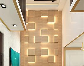 3D livingroom modern living room