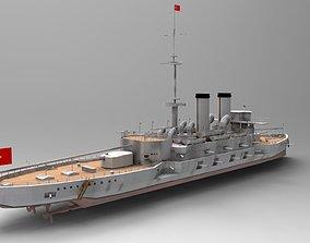 australia Ottoman Battleship Mesudiye 3D Model