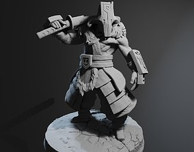 Juggernaut Dota 2 high poly 3D printable model