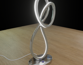 3D asset LED lamp