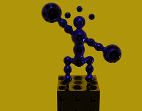 Beatiful magnetic demons 3D model
