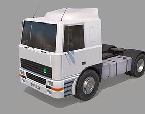 3D asset realtime Semi Truck