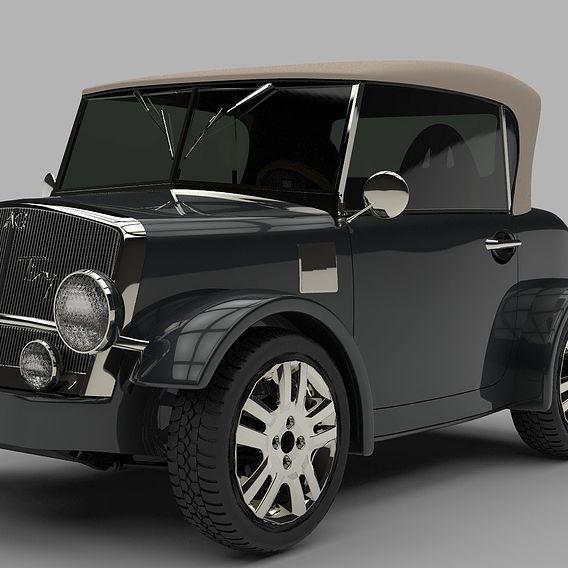 "Mini Electric Car Concept ""Tiny"""