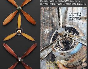 Set propeller 3D