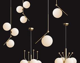 3D model Flos chandelier
