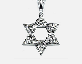 3D printable model jewish Star of David