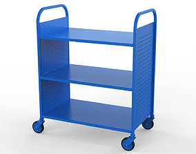 Generic Cart Library Transport 01 3D
