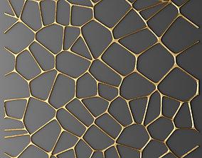 Panel lattice grille 3D 25
