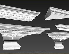 Decorative Selvest - Decorative Gaudi Elements 3D