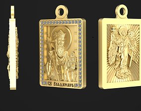 3D print model Exclusive Pendant ST Nicholas