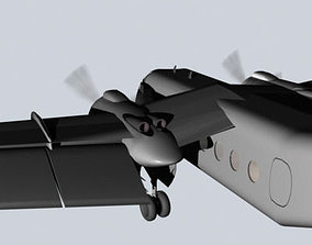 DeHavilland Caribou 3D Model
