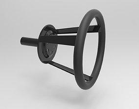 Stearing wheel 2 3D