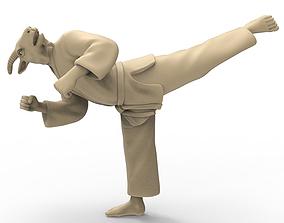 3D printable model Goat Back Kick