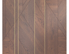 Decor wood Panel 25 3D model
