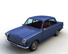 FOR D CORTINA MK1 1500 SUPER 1964 3D model