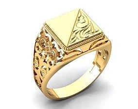 Ring 79 3D print model uomo-anello