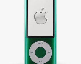 Apple iPod Nano 5 Generation digital media player 3D model