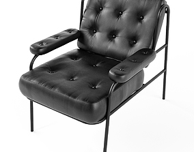 Campbell lounge chair 3D model