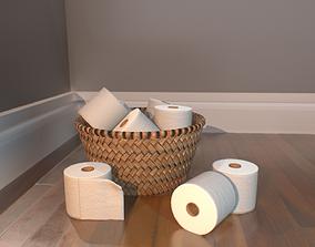 3D model Tissue Basket